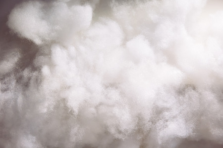 Cotton wools making it as clouds for background wallpaper Banco de Imagens