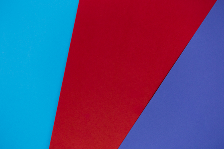 Multicolor background from cardboard paper. blue red purple pastel color Stock Photo
