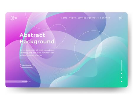 Liquid color background design. Fluid gradient shapes composition. Applicable for gift card cover poster, Poster on wall poster template, landing page, social media posted, Eps10 vector.