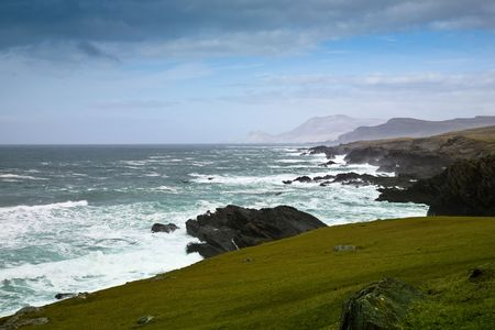hz: coast view ,west of ireland. Kerry