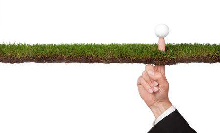 conceptuele bedrijfs imago van het nemen van een risico of vele andere concepten
