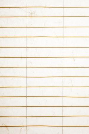 stores: papier de riz Stores avec des brindilles de bambou, r�tro-�clair� avec une texture papier nice