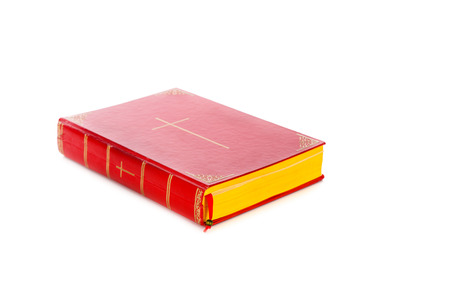 zwarte: Book of Sinterklaas isolated on white backgroud. Part of a Dutch Santa tradition