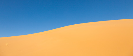 Abstract Sand dunes at sunset  in the Sahara Desert, Merzouga, Morocco