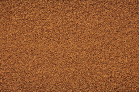 Red clay court tennis background texture. Tennis court close-up of gravel surface Stockfoto