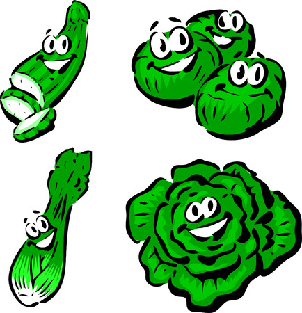 Cucumber, Brussels Sprouts, Celery, Lettuce