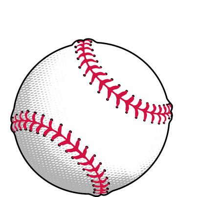 Honkbal en Softbal of Vector Illustratie