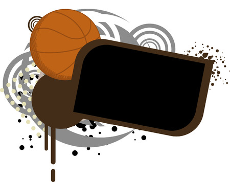 Basketball Template Vector