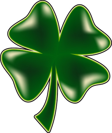 clover leaf shape: Four Leaf Clover