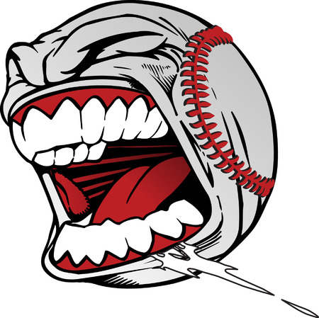 shouting: Screaming Baseball