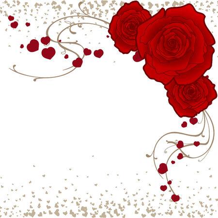 Rose-sjabloon Stockfoto - 2491187