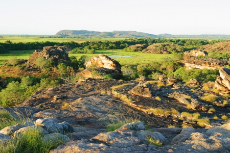 kakadu: Ubirr Art Site and Lookout  Kakadu National Park  Northern Territory Australia