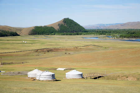mongol: Gers Terelj Mongolia Central Asia