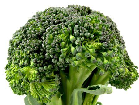 heart very: Very close up shot of a fresh broccoli heart                                Stock Photo