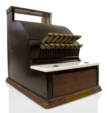 technology transaction: Vintage cash register