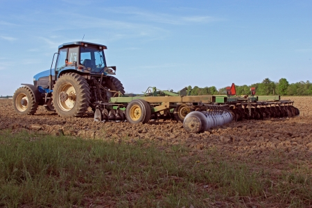 Modern agriculltural farm plow Stock Photo - 13750262