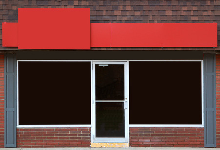 Empty storefront with great possibilities for small business