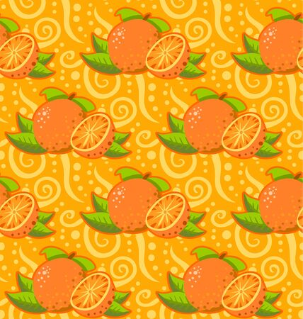 blends: Detailed illustration of a pattern with two orangeThis illustration is saved in EPS10 with color space in RGB.Where possible, the objects have been grouped to make it easily editable or hidden.This illustration contains a transparency blends. Illustration