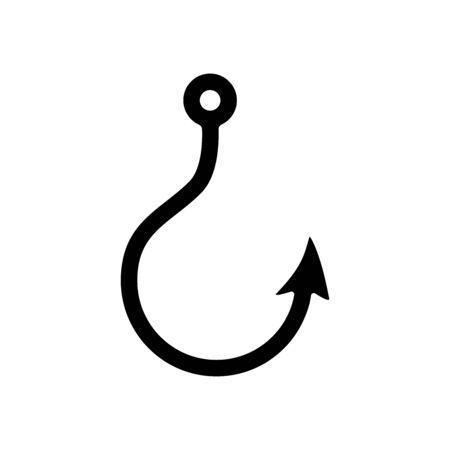 Hook icon vector