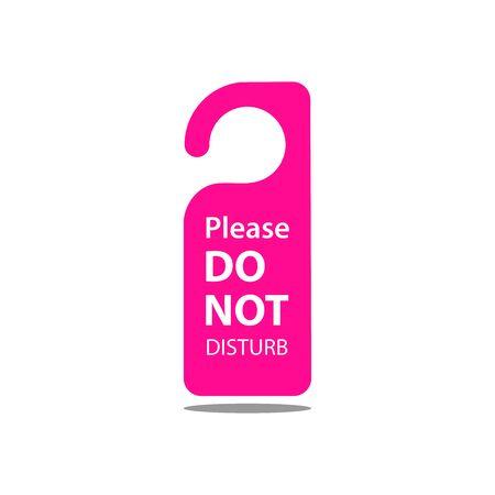 Please do not disturb icon Vettoriali