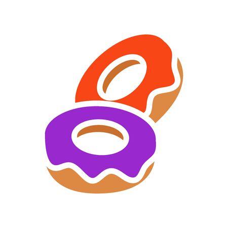 Donut icon Archivio Fotografico - 149590531