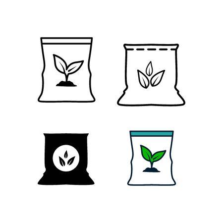 Fertilizer icons Vettoriali