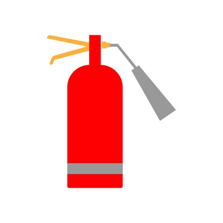 Fire extinguisher sign icon