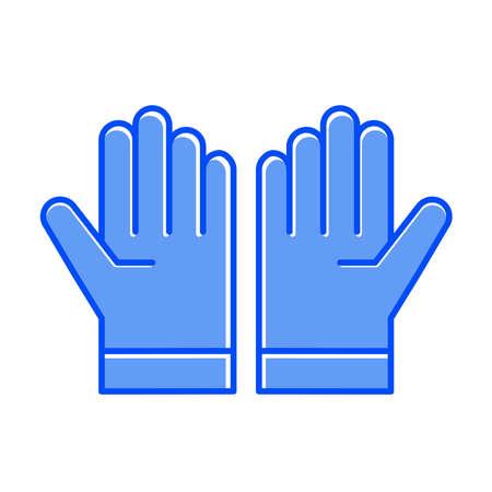 Glove icon Vettoriali