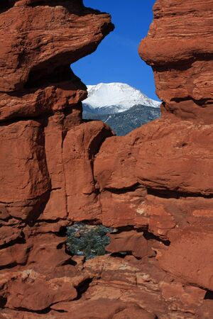 grandeur: Siamese Twins and Pikes Peak