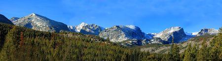grandeur: Rocky Mountain panoramic Stock Photo