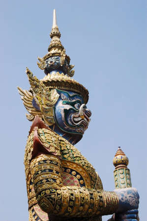 giant in Thailand Stock Photo