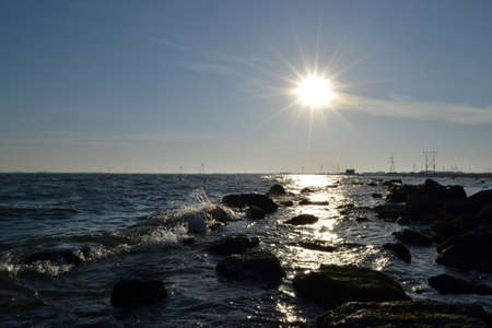 sea and sun Stock Photo
