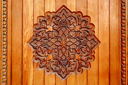 Wooden details background photo