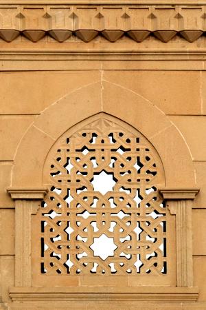 Ornamental old window