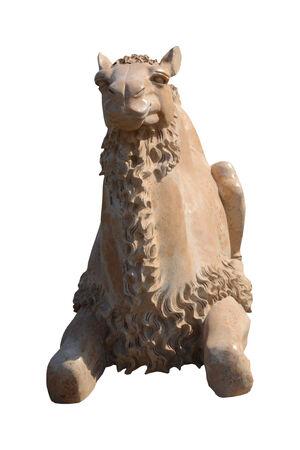 sculpture camel Stock Photo
