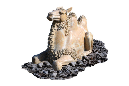 sculpture camel Stock Photo