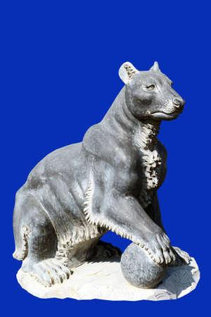 sculpture wolverine
