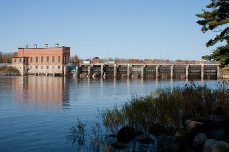 Alexander Hydro Dam Stockfoto