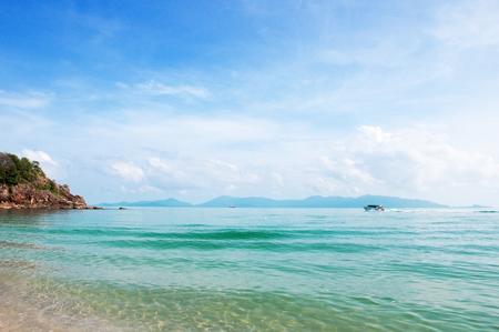 The Sunny Maenam beach of Koh Samui, Thailand Zdjęcie Seryjne