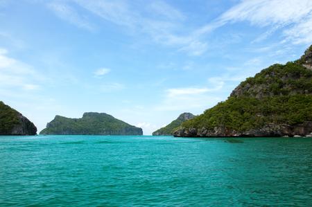 The Angthong national marine park, koh Samui, Suratthani, Thailand Stock Photo