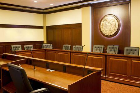 Room for meetings, debates and listening sessions at the boise state capitol. Editorial