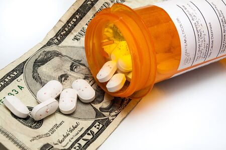 illegal drugs: Cost of drugs is going up and they are also finding their way on our streets due to addictions Stock Photo