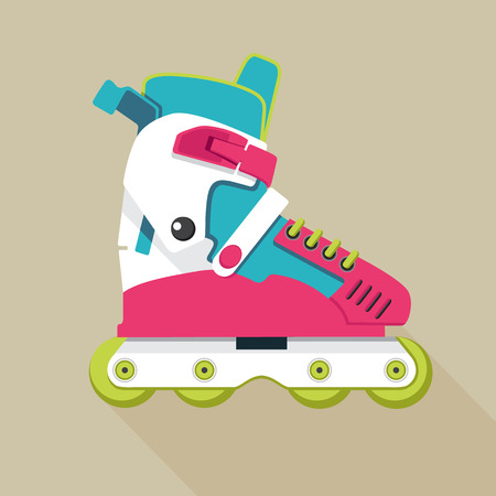 roller skates icon 向量圖像