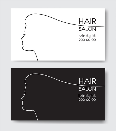 Hair salon business card templates royalty free cliparts vectors hair salon business card templates royalty free cliparts vectors and stock illustration image 76498014 wajeb Images