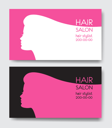 Hair salon business card templates royalty free cliparts vectors hair salon business card templates stock vector 76498015 friedricerecipe Images