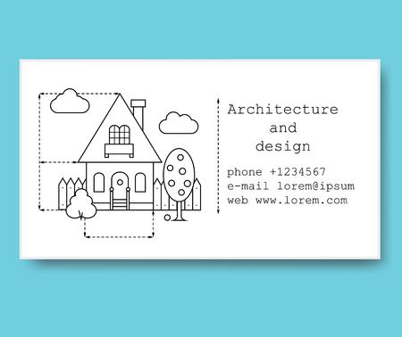 Modle De Carte Visite Pour Entreprise Construction Ou