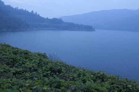 mountin: lake landscape in the early morning