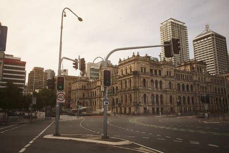 Street in Brisbane, Australia Stock Photo