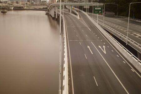 Which highway in Brisbane, Australia