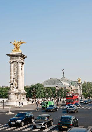 alexandre: Pont Alexandre III - Bridge in Paris, France